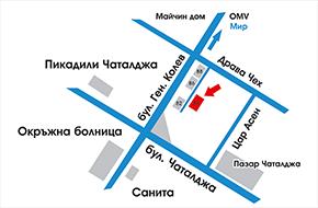 Карта на адреса